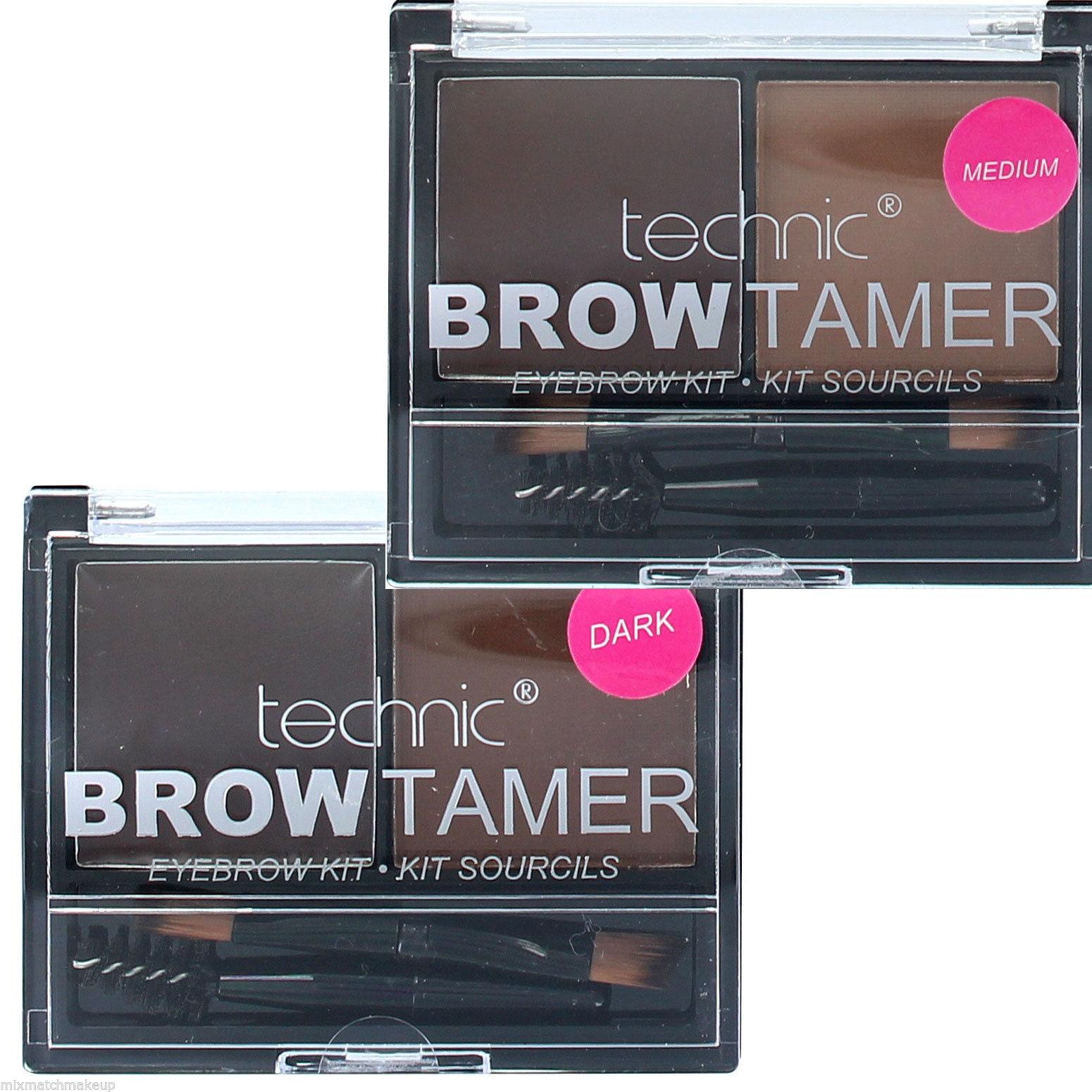 Technic Brow Tamer Compact Eyebrow Kit Powder Wax Brow ...